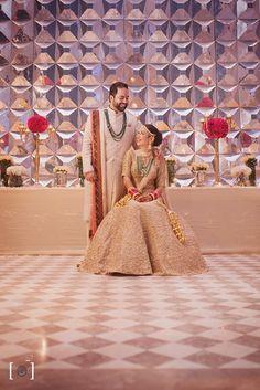 Royal Indian Bride & Groom Portrait