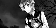 Kanato's laugh is creepy but somehow so kawaii and it's utterly perfect!  | Kanato (gif)