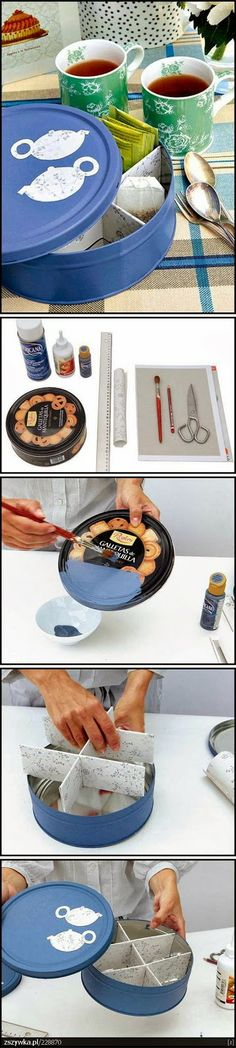 DIY Make a Tea Tin