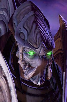 Dark Protoss Templar from Starcraft