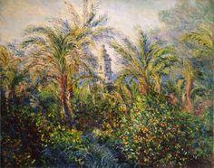 Claude Monet Garden in Bordighera, Impression of Morning (1884)