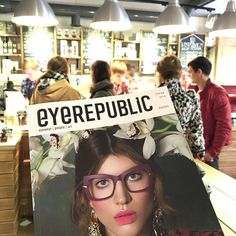 #eyerepublic в лучших местах твоего города We are in best places of Russia #eyewear #people #art #carolineabram