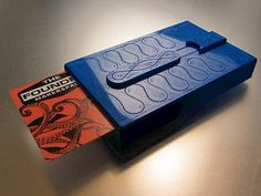 Stiletto Business Card Case by LoboCNC - Thingiverse