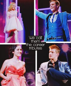glimmer, marvel, clove, cato. we call them the careers