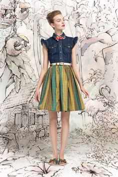Red Valentino Spring 2013 Ready-to-Wear Collection Photos - Vogue