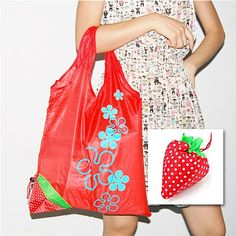 47 best amazon coupon codes free stuff discounts images on strawberry fold up reusable bag adorable and functional 59 off at fandeluxe Images