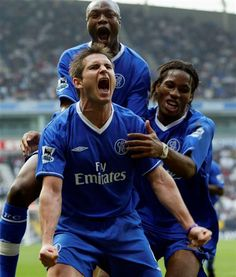 Frank Lampard because he has inspired Chelsea many many many... times