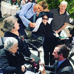 """meeting the residents at St Basil's nursing home in Adelaide- 90% of them Greek. St Basil's nursing homes are part of the Greek Orthodox Archdiocese in Australia - incredible facilities & warmth... Thank you for your """"filoxenia"""""""