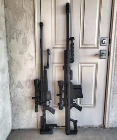 Long range beauties PGM Precision Mini-Hecate in .338 Lapua #Barrett M107 SE in .50 -