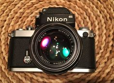 This is an original Nikon F2 from 1973, I love this camera but its been collecting too much dust lately instead of getting use. This camera works flaw... #with #lens #camera #film #photomic #nikon