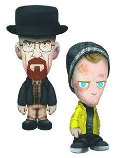 Breaking Bad 8-Inch Plush Set of 2 @ niftywarehouse.com #NiftyWarehouse #BreakingBad #AMC #Show #TV #Shows #Gifts #Merchandise #WalterWhite