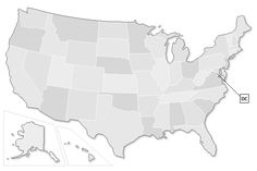 Geocaches by State