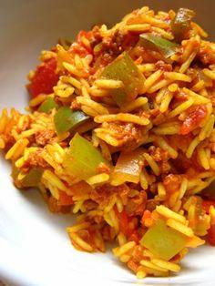 spanish recipies with photos | Spanish Rice Recipe