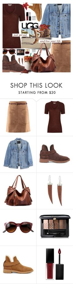 """""""The New Classics With UGG: Contest Entry"""" by sinesnsingularities ❤ liked on Polyvore featuring H&M, Étoile Isabel Marant, Y/Project, UGG, NOVICA, Guerlain, Smashbox, Smith & Cult, ugg and contestentry"""
