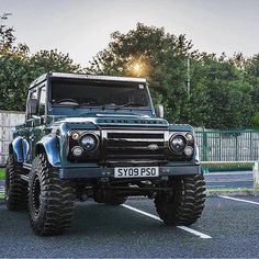 Double Cab Beast //Cars for Adventures - Max Raven Land Rover Defender 130, Defender 90, Landrover Defender, Jeep Truck, 4x4 Trucks, Land Rover Models, Offroader, Off Road Adventure, Expedition Vehicle