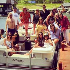 Lake Gaston is best enjoyed with friends and family! We're so glad you had a good time, @connorbradley25! Did anyone spend the weekend on the lake? #halifaxcvb