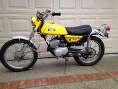 1970 Yamaha AT-1B Enduro Frame no. AT1130807 Engine no. AT1130807