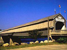 Covered bridges   ... of Canada - Your Nominations - Hartland Covered Bridge, New Brunswick
