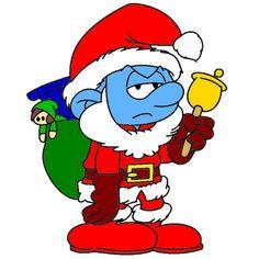 Grouchy Smurf, Christmas