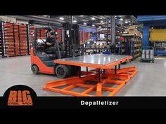 Depalletizer by Big Steel Rack - YouTube Steel Racks, Industrial Hardware, Vertical Storage, Sheet Metal, Storage Solutions, Innovation, Big, Youtube, Ideas