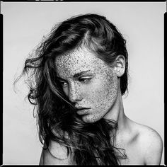Freckles_Infinity by Marc Laroche, via Flickr  http://www.flickr.com/photos/stygian/8162401850/....beautiful face, characterful