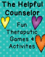 The Helpful Counselor on TPT: Fun counseling games and activities!