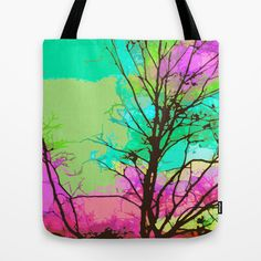 Park Sky Poster Tote Bag by Nina May  - $22.00
