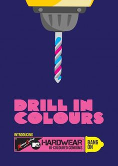 "Art dierction... MTV & KamaSutra ""Hardwear"": Hardwear Condoms"