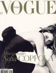Sophia Coppola on the cover of Vogue Paris.