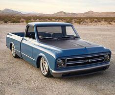 """Stunning built by 67 72 Chevy Truck, Chevy C10, Chevy Pickups, C10 Trucks, Chevy Pickup Trucks, Chevrolet Trucks, Dream Car Garage, Vintage Trucks, Classic Trucks"