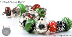 Trollbeads Loving Hearts (Christmas 2013)