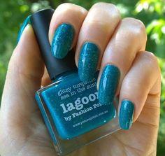 Shimmering turquoise nail art :: one1lady.com :: #nail #nails #nailart #manicure