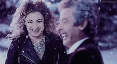 ksc The thing I love best about River Song? The way she ALWAYS looks at her Doctor ☺♥♥ ...even when she has no idea who is he