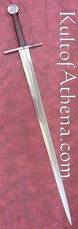Albion Crecy War Sword. Fierce pointy bastard, $855, no scabbard.