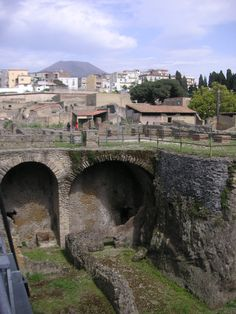Italy:  Archaeological Area of... Herculaneum.  Copyright: Michelle LaLonde, 2010.