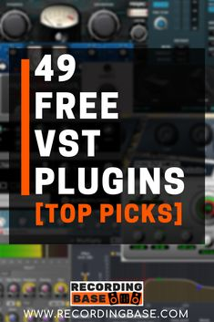 If you are searching for some good Free VST plugins for Vocals then you are in the right place. Here I have free VST plugins for vocals which can help yo Recording Studio Setup, Multitrack Recording, Guitar Chords For Songs, Music Studio Room, Music Software, Recorder Music, Music Promotion, Music Theory, Music Mix