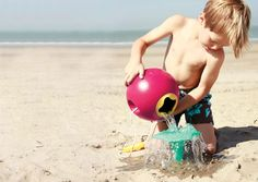 5 of the most fun new beach toys, beyond mere shovels and pails. (Not that those aren't great too.)