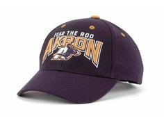 Akron NCAA Snap Back Hat New