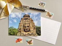 Cartolina Fotografica Tempio Bayon di ThePostcardsFactory su Etsy