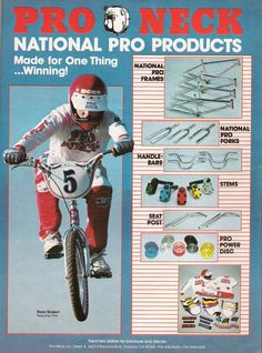 Wow!!  I only saw this ad a couples times in the 80s.  I was a National Pro rider back then!!