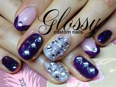 Most of them are Gel and Acrylic artificial nails but you might catch a few natural ones. Some Designs are hand painted and others are. Artificial Nails, Shellac, Bling, Hand Painted, Gallery, Painting, Jewel, Painting Art, Paintings
