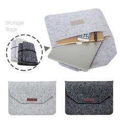 New Fashion Soft Sleeve Bag Case For Apple Macbook