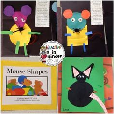 Mouse Shapes activity and mentor text  Kreative in Kinder
