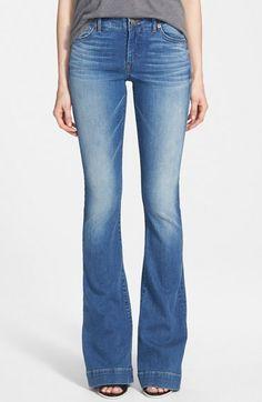 True Religion Brand Jeans 'Charlize' Flare Jeans (Edenhurst) available at #Nordstrom