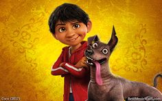 A boy and his dog - #Miguel and #Dante from #Coco in this #wallpaper :]