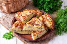 Μπατζίνα: Θεϊκή πίτα με κολοκυθάκια από τη Θεσσαλία -Τραγανή απ'έξω, αφράτη από μέσα Kefir, Low Calorie Cheese, Feta, The Last Meal, Butter, Tasty, Yummy Food, Vegetable Seasoning, Breakfast Snacks