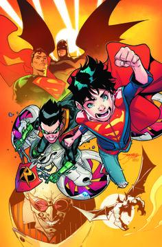 Super Sons and Teen Titans Rebirth by Dennis Culver, Jorge Jimenez and Jonboy Meyers. Batman Robin, Batman Y Superman, Son Of Batman, Superman Family, Superman News, Dc Rebirth, Titans Rebirth, Batwoman, Nightwing