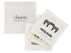 Cheers ladies and gents! Cosy, Cheers, Coasters, How To Make, Coaster