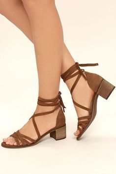 79dd519952f93a Alice CaneClarks sandals · Never forget a chic moment with the Steve Madden  Revere Cognac Suede Leather Lace-Up
