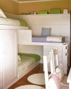 lots of different bunkbeds